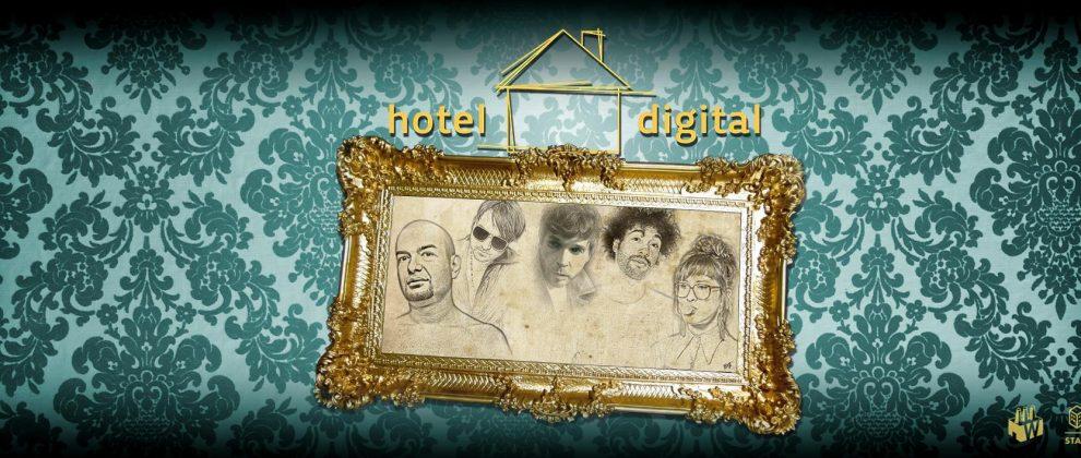 Hotel Digital mit KiNK, &ME, Sascha Braemer, Bebetta & Niconé