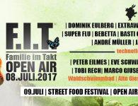 Familie im Tankt Open Air 2017
